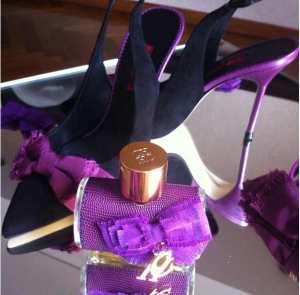 O perfume CH Sublime, de Carolina Herrera, é muito feminino. E os sapatos... Quem não quer?