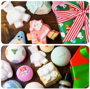 Natal chegando meeesmo! A Lush lança hoje uma série de produtos especiais: tem bomba de banho temática, sabonetes com sabores natalinos, o gel de banho Snow Fairy... #fimdeano #festas #natal #presente #corpo #banho #natalnalush #beautybyka